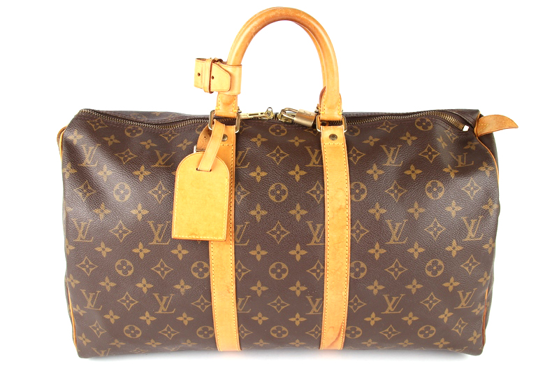 louis vuitton keepall 45 vintage monogram canvas m41428. Black Bedroom Furniture Sets. Home Design Ideas